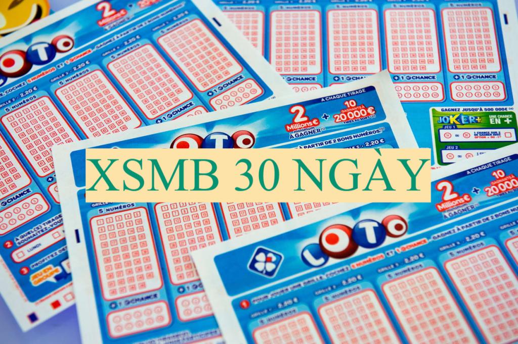 XSMB 30 ngày